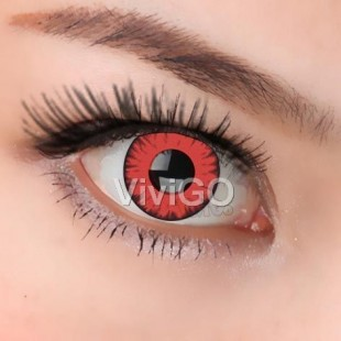 Halloween Zombie Contact Lenses White Black Zombie Lenses