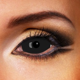 Black Sclera Contacts 22mm Lenses (Best)