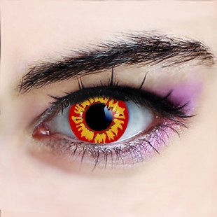 Red Inferno Crazy Lenses