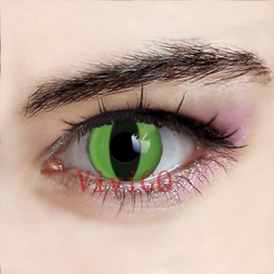 Green Cat Eyes Crazy Lenses