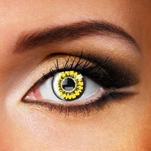 Yellow Poppy Crazy Contacts