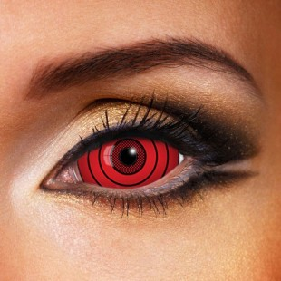 Sharingan RINNEGAN Red SCLERA 22mm