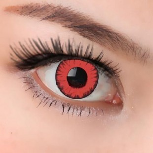 Red Vampire/evil Crazy Lenses