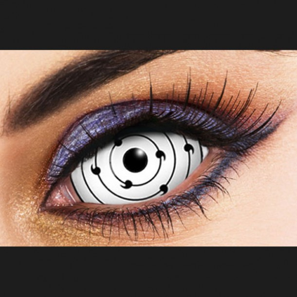 SHARINGAN RINNEGAN WHITE SCLERA 22mm