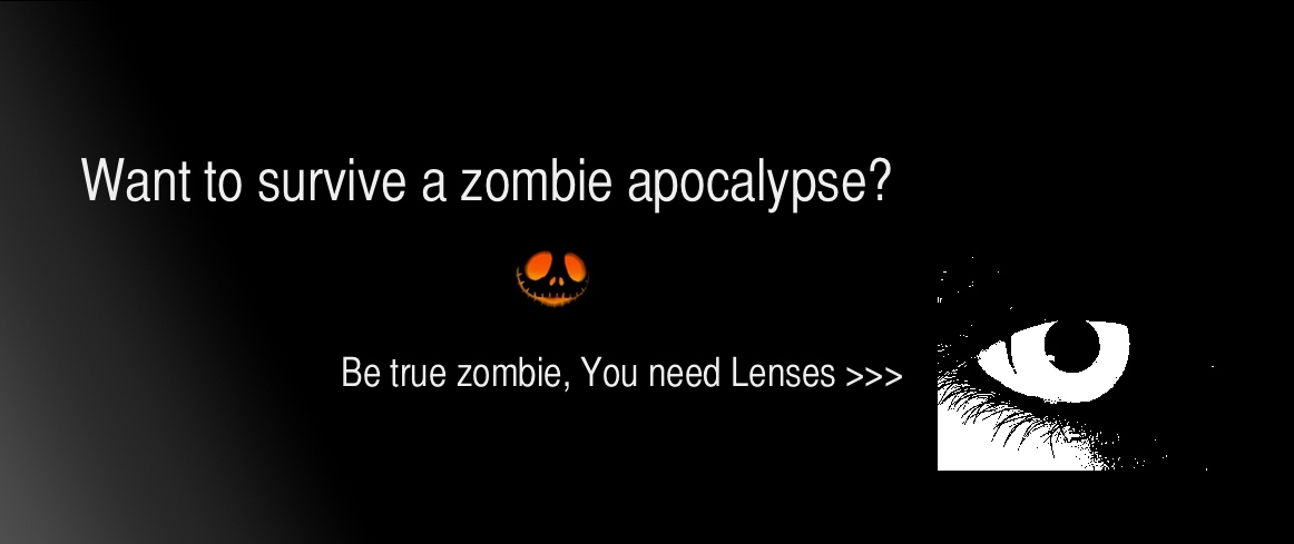 zombie lenses for halloween